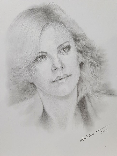 Charlize Theron por Bobchew